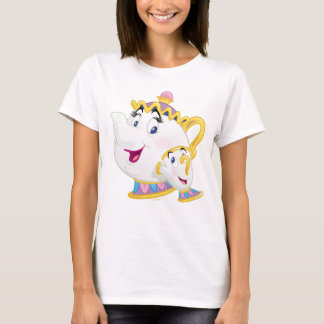 Beauty And The Beast   Mrs. Potts And Chip T-Shirt