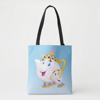 Beauty And The Beast | Mrs. Potts And Chip Tote Bag