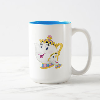 Beauty And The Beast | Mrs. Potts And Chip Two-Tone Coffee Mug