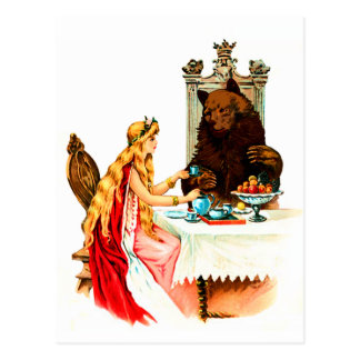 Beauty And The Beast Postcard