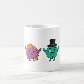 Beauty and Top Quarks Coffee Mug