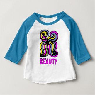 """Beauty"" Baby 3/4 Raglan T-Shirt"