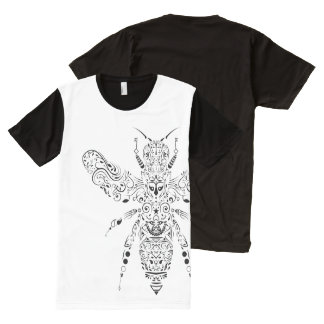 beauty bee All-Over-Print T-Shirt