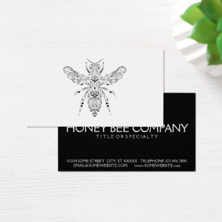 beauty bee business card