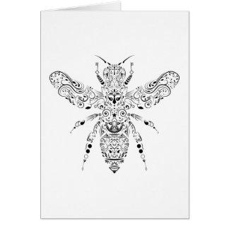 beauty bee card