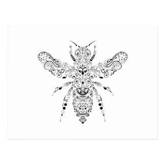 beauty bee postcard