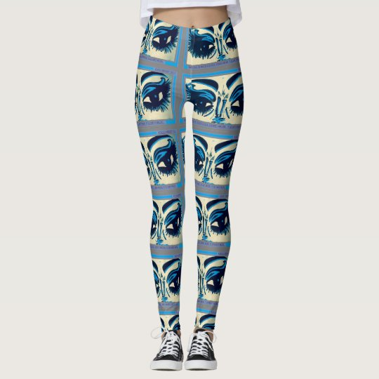 Beauty Blue Lash Tights/Leggings Leggings