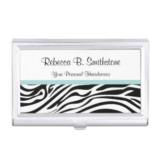 Beauty Business Card Holder Zebra