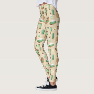 Beauty Care Products Leggings
