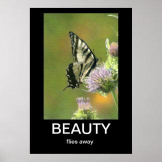 Beauty Demotivational Poster