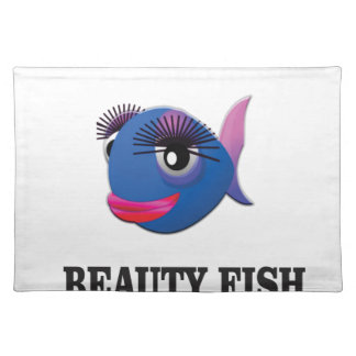 beauty fish placemat