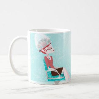 Beauty Goddess Classic White Coffee Mug