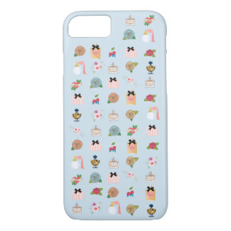 Beauty icons, gorgeous charms, perfume iPhone 8/7 case