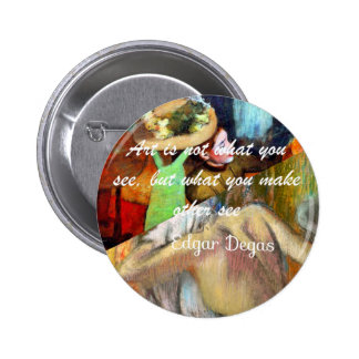 Beauty in art paintings always tell us something 2 inch round button