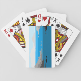 Beauty in Desolation Playing Cards