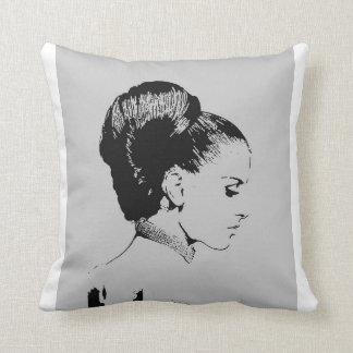 beauty in inner-self throw pillow