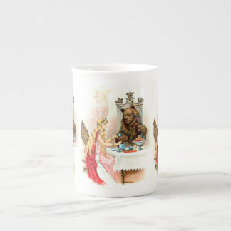 Beauty In Pink And The Beast Tea Cup
