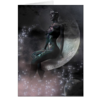 Beauty In The Moon Card