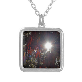 Beauty in the Sumac Silver Plated Necklace