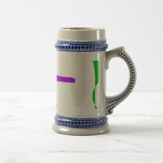 Beauty Is an Illusion Beer Stein