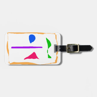 Beauty Is an Illusion Luggage Tag