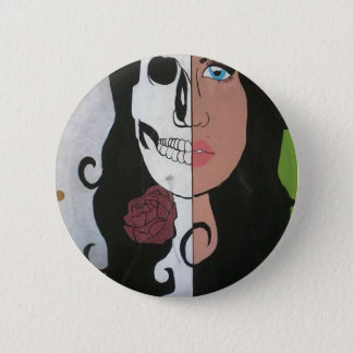Beauty is Deadly 2 Inch Round Button