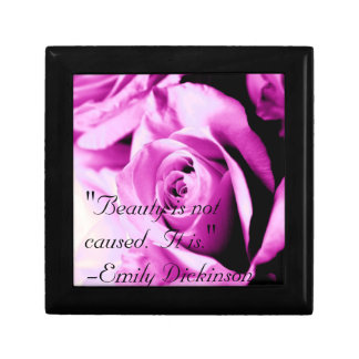 """""""Beauty is not caused.  It is."""" Gift Box"""
