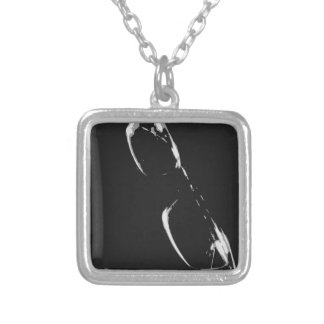 Beauty Is Silver Plated Necklace