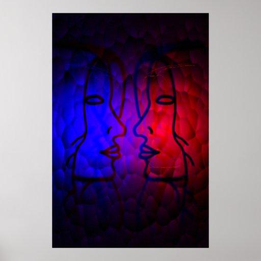 Beauty Lights Poster