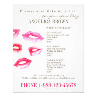 Beauty & Makeup Flyer