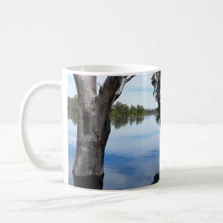 Beauty Of A Gum Tree  River Murray Australia, Coffee Mug