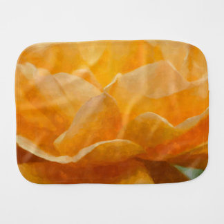 Beauty Of A Rose Painterly Burp Cloth