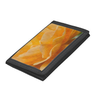 Beauty Of A Rose Painterly Tri-fold Wallet