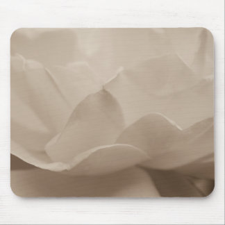 Beauty Of A Rose Sepia Mouse Pad