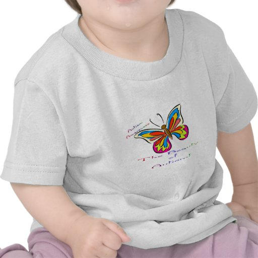 beauty of autism t-shirts