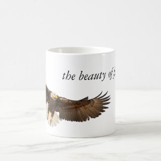 Beauty of Freedom Eagle Classic White Coffee Mug