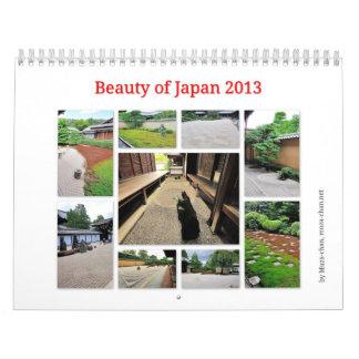 Beauty of Japan - Zen Gardens 2013 Calendar