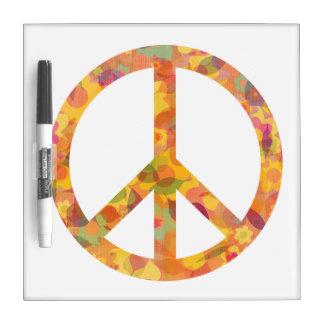 Beauty of Peace Dry Erase Board