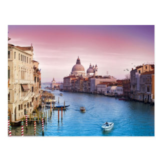 Beauty of Venice Italy Postcard