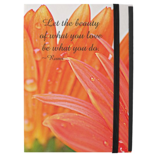 """Beauty of What You Love Gerber iPad Pro 12.9"""" Case"""