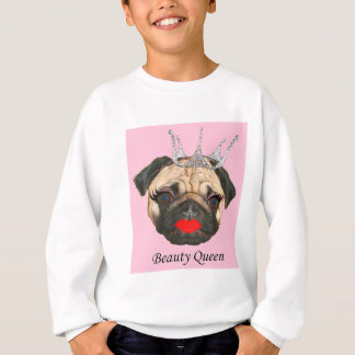 Beauty Queen Men's Pullover Sweatshirt