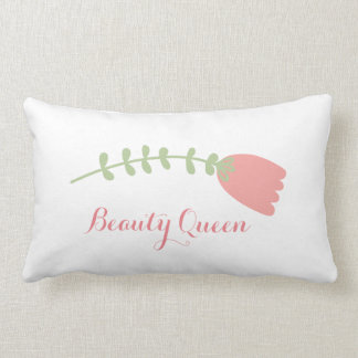 Beauty Queen Pillow! Lumbar Pillow