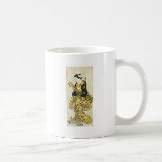 Beauty Reading Letter Torii School 1730 Art Prints Basic White Mug