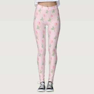 Beauty Rose Leggings Pink