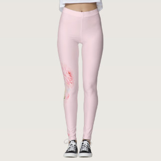 Beauty Rose Leggings Single Rose