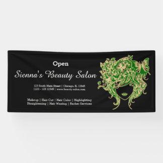Beauty Salon(green gold) * choose background color Banner