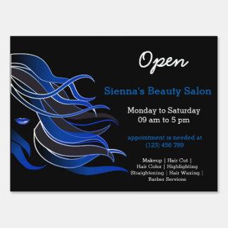 Beauty Salon Hairdresser (blue)