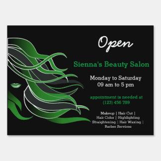 Beauty Salon Hairdresser (green)