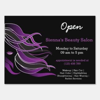 Beauty Salon Hairdresser (purple)