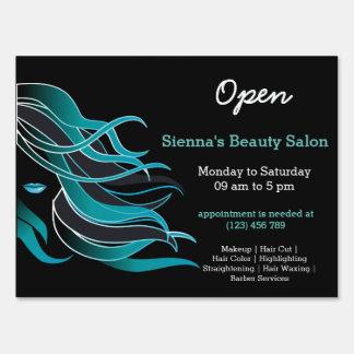 Beauty Salon Hairdresser (turquoise)